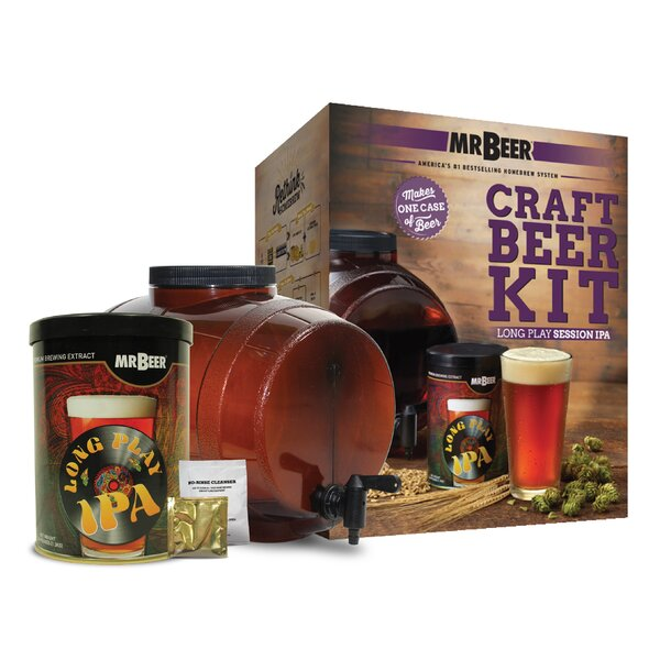 Mr. Beer Long Play IPA Beer Making Kit by Mr. Beer