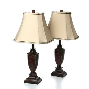 Read Reviews Talleyran 27 Table Lamp (Set of 2) By Alcott Hill