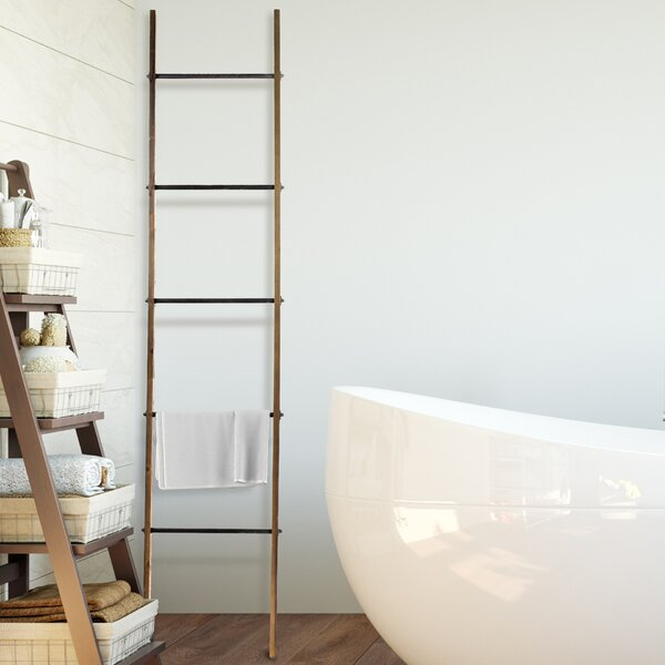 Metal Ladder 6.5 ft Decorative Ladder by Laurel Foundry Modern Farmhouse