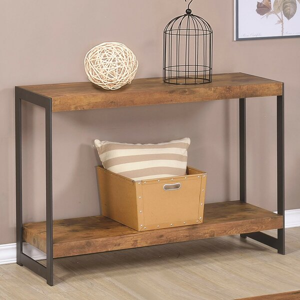 Alloway Minimalist Console Table By Williston Forge