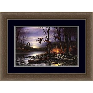 Evening Glow by Terry Redlin Framed Painting Print by Hadley House Co