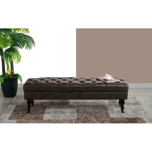 Schiavo Upholstered Bench By Charlton Home