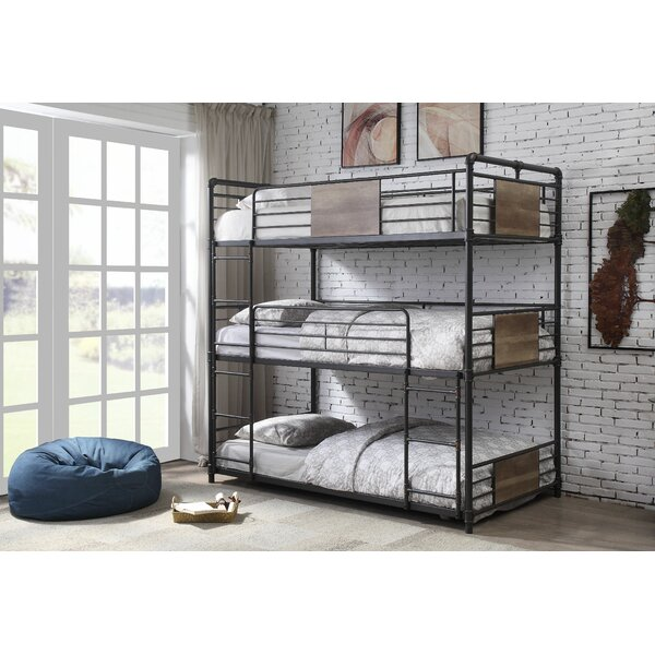 Kemble Twin Triple Bunk Bed by Williston Forge