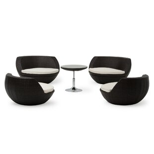 Aideen 5 Piece Dining Set By Wade Logan
