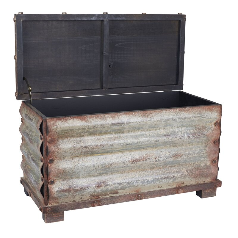 Charmant Carbondale Corrugated Coffee Table Trunk