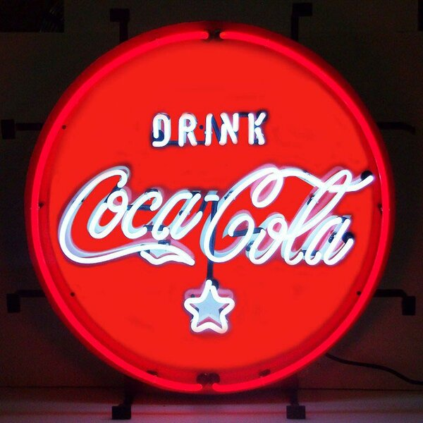 Coca-Cola Coke Neon Sign by Neonetics