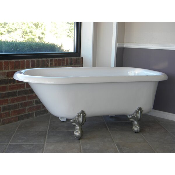 Monarch 66 x 30 Freestanding Soaking Bathtub by Restoria Bathtub Company