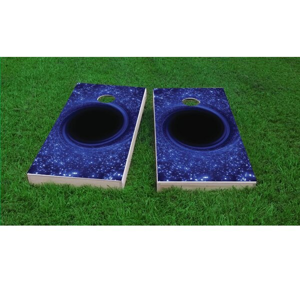 Hole Cornhole Game Set by Custom Cornhole Boards