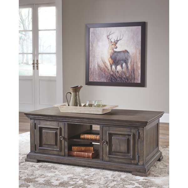 Schooner Coffee Table With Storage By Charlton Home