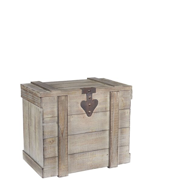 Medium Wooden Home Chest by Household Essentials