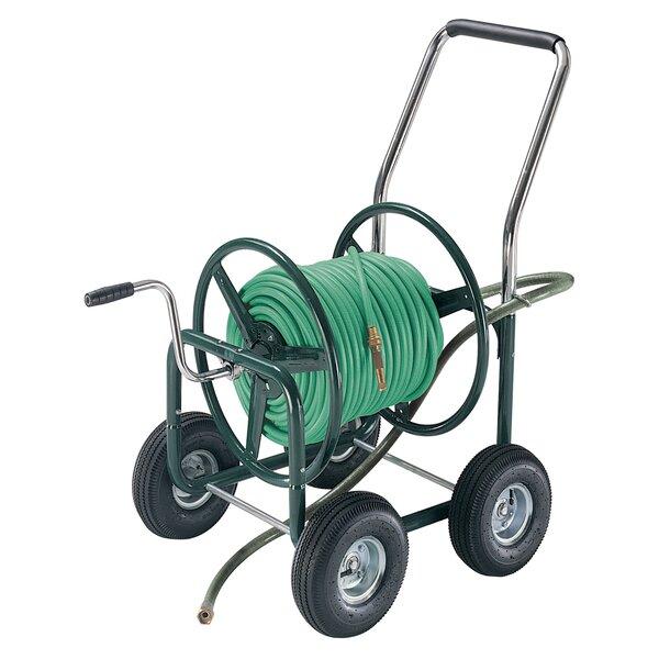 Metal Hose Reel Cart by TrueTemper