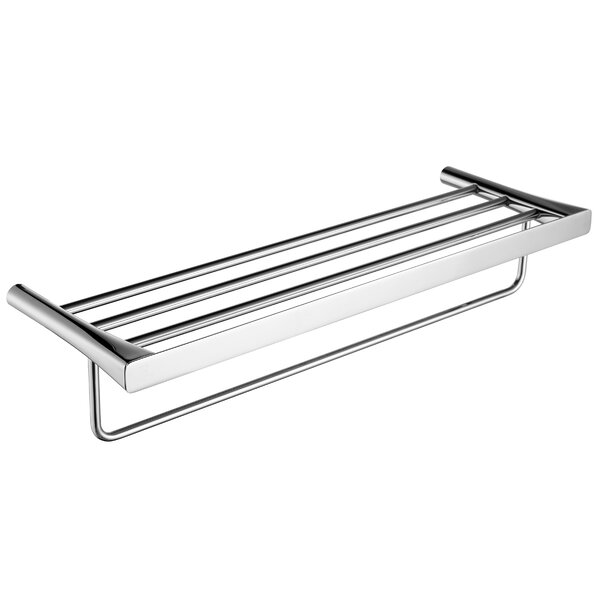 Caster 3 Wall Mounted Towel Rack By Anzzi.