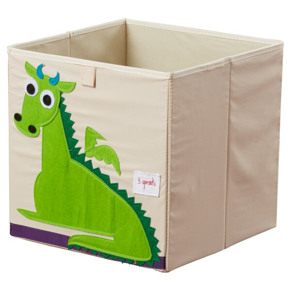 Dragon Storage Cube By 3 Sprouts.
