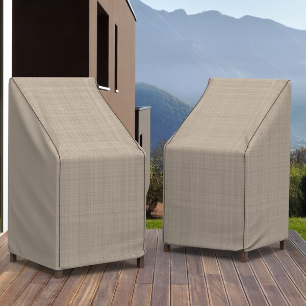 English Garden Stack Patio Chairs/Barstool Cover by Budge Industries