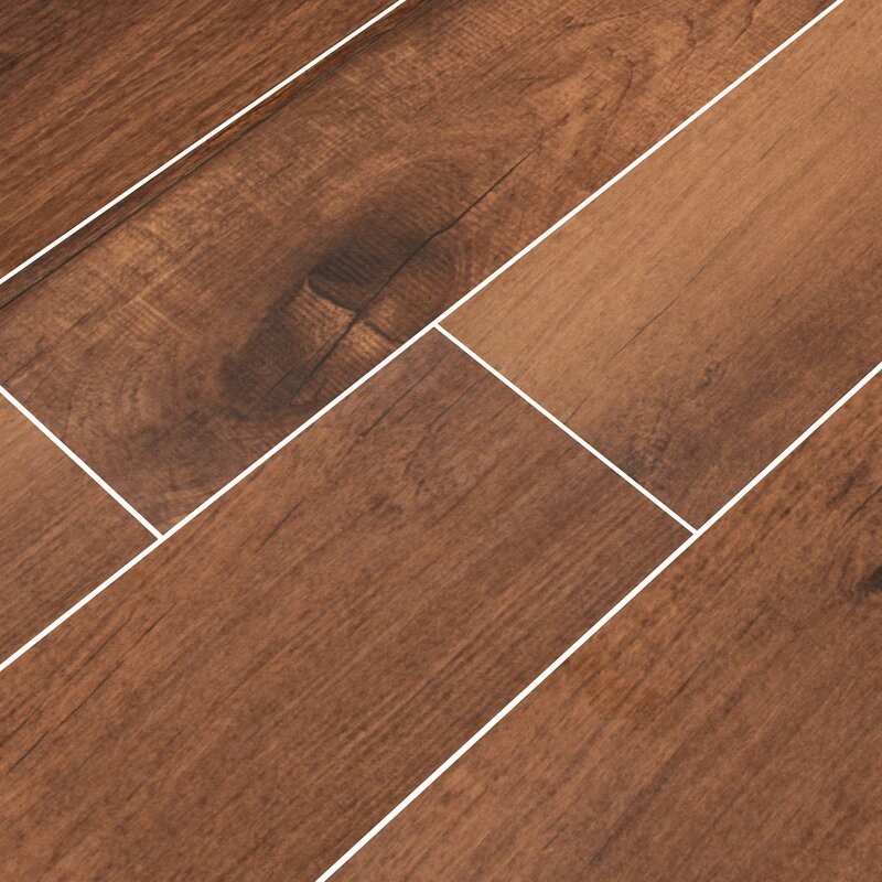 Msi Palmetto Chestnut 6 X 36 Porcelain Tile Wood Look In Brown