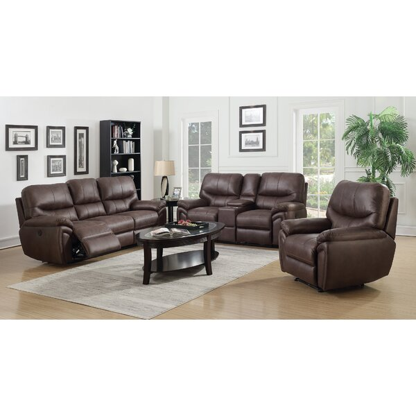 Quance Reclining Configurable Living Room Set by Winston Porter