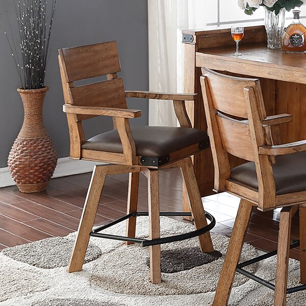 Aon 24 Bar Stool (Set of 2) by Loon Peak
