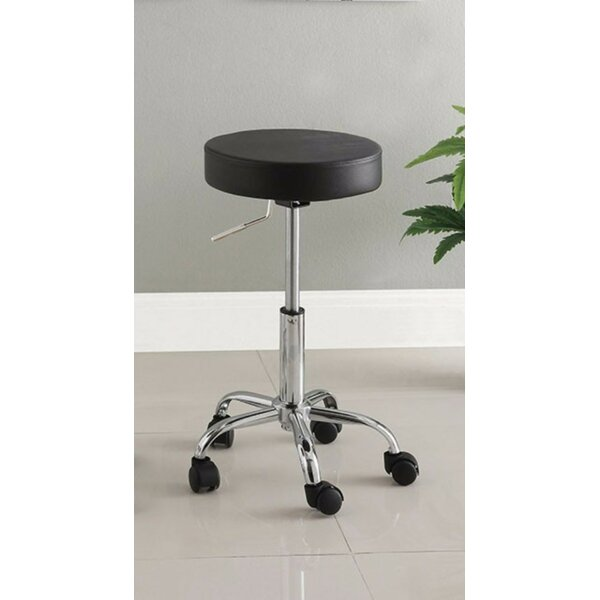 Lauderhill Stylish Space Saving Adjustable Height Swivel Bar Stool by Symple Stuff