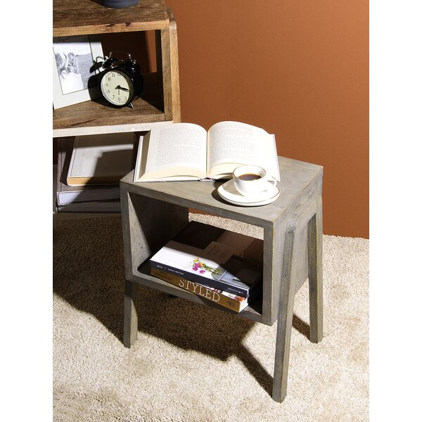 Oakhaven End Table With Storage By Wrought Studio