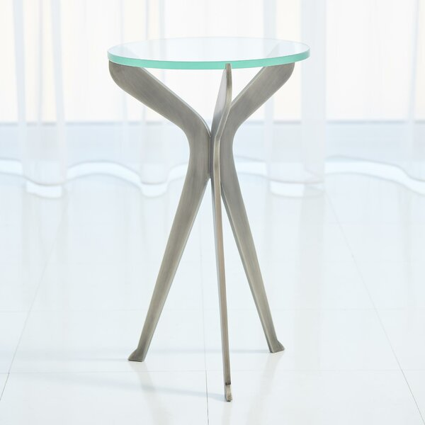 Slice Tripod End Table By Global Views