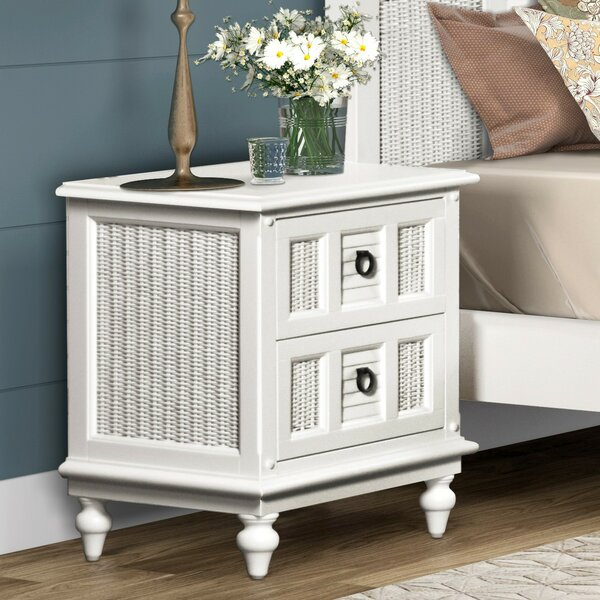 Mathews 2 Drawer Nightstand by Bayou Breeze