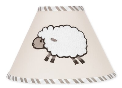 Little Lamb 7 Cotton Empire Lamp Shade by Sweet Jojo Designs