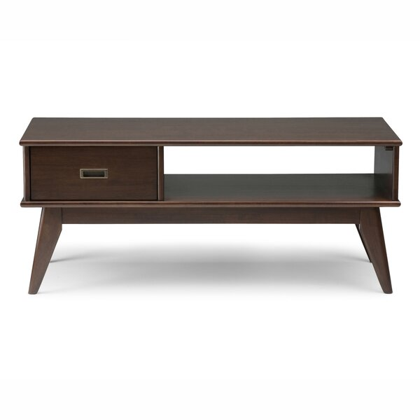 Halvorson Coffee Table With Storage By George Oliver