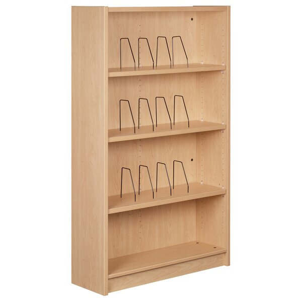 Library Standard Bookcase by Stevens ID Systems Stevens ID Systems