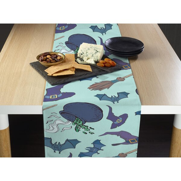 Evangelista Witches Brew Milliken Signature Table Runner by The Holiday Aisle