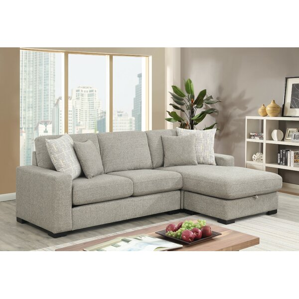 Gaylon Left Hand Facing Sectional by Ivy Bronx