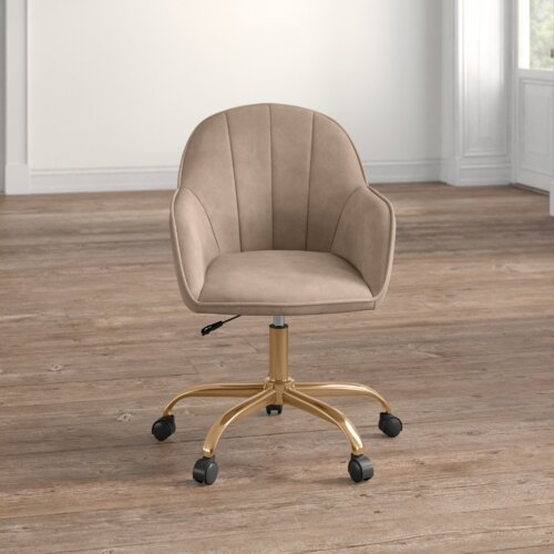 Tennison Desk Chair Hykkon Upholstery
