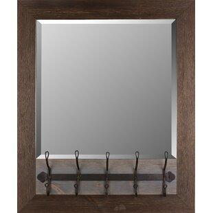Mirrorize.ca Coat Hanger Wood Accent Mirror