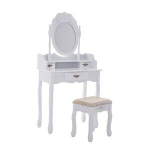 Schminktisch Carisio mit Spiegel von dCor design