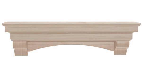 The Auburn Fireplace Shelf Mantel by Pearl Mantels