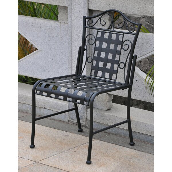 Dalmatia Patio Dining Chair (Set of 2) by Alcott Hill Alcott Hill