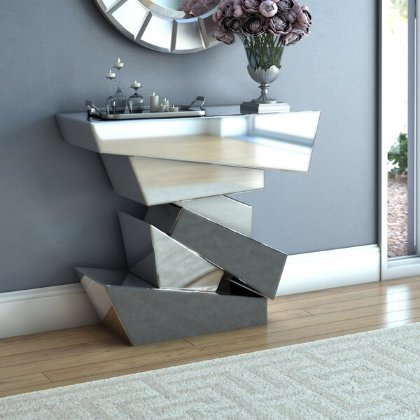 Reshawn Console Table by Orren Ellis