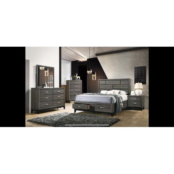 Scroggins Platform 4 Piece Bedroom Set by Foundry Select