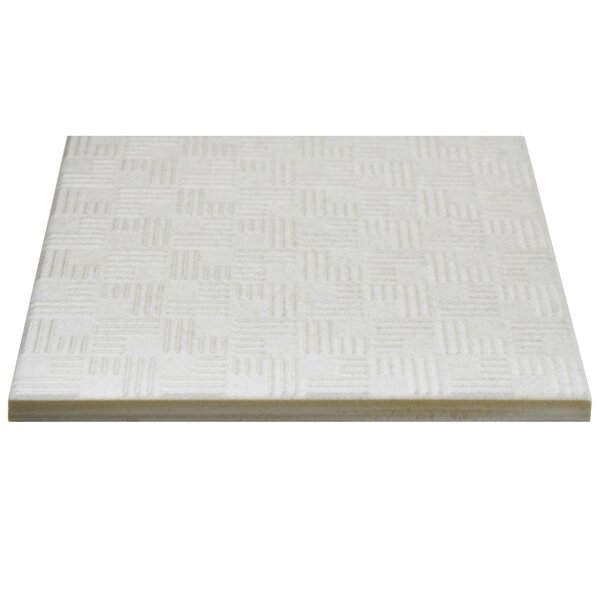Region 6 x 6 Porcelain Field Tile in White by EliteTile