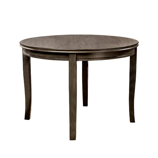 Wehrle Solid Wood Dining Table by Gracie Oaks