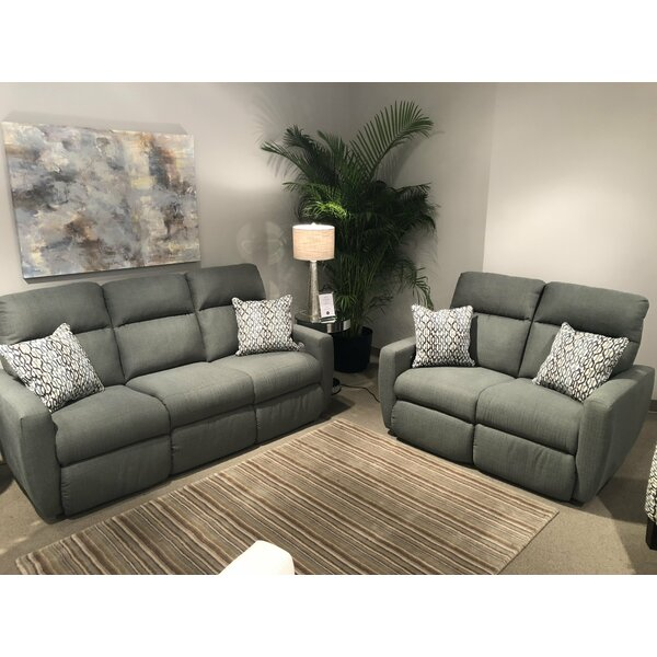 Knockout 2 Piece Reclining Living Room Set By Southern Motion Comparison