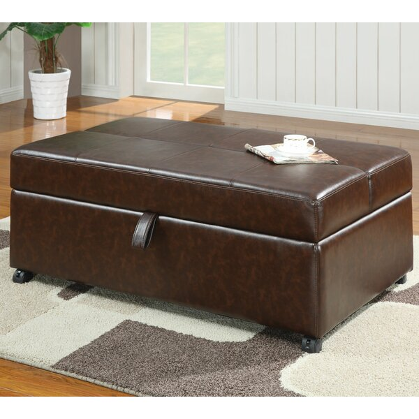 Raap Sleeper Leatherette Bench by Red Barrel Studio