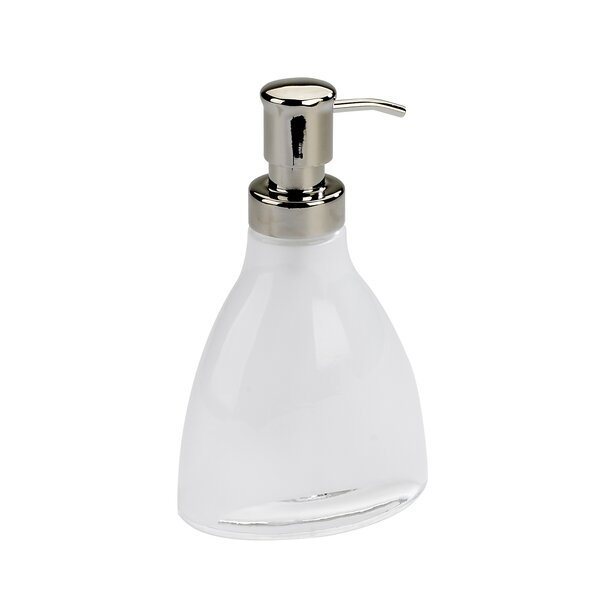 Vapor Soap Pump in Translucent White by Umbra