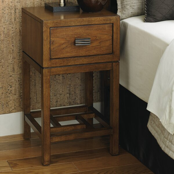 Island Fusion 1 Drawer Nightstand By Tommy Bahama Home