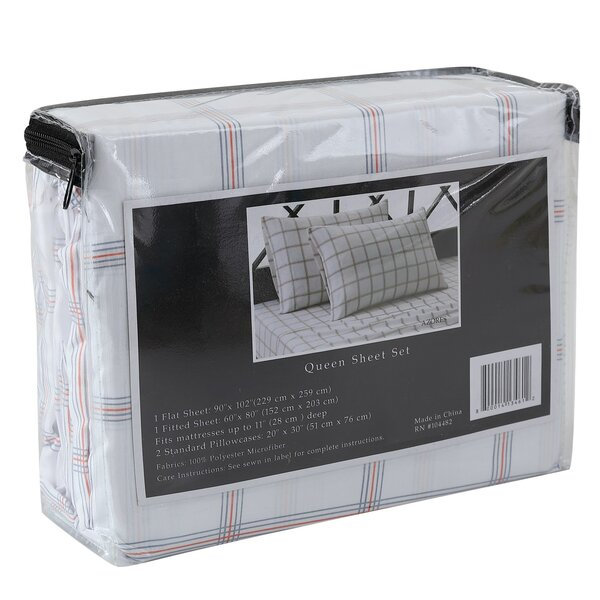 Azores 4 Piece Sheet Set by Ellison First Asia