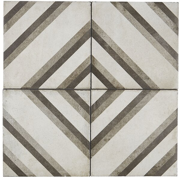 8 x 8 Porcelain Field Tile in Piazza by Itona Tile