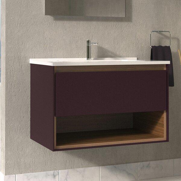 Australis 31 Wall-Mounted Single Bathroom Vanity Set by Ivy Bronx