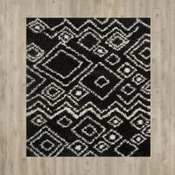 Malibu Charcoal / Ivory Area Rug by Trent Austin Design