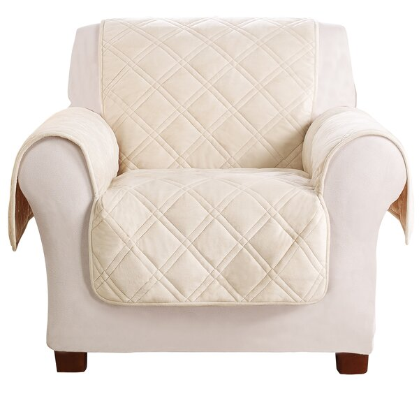 Triple Protection FC Box Cushion Armchair Slipcover by Sure Fit