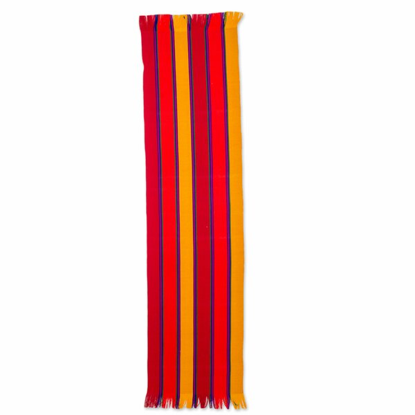 Sunset Glory Cotton Runner by Novica