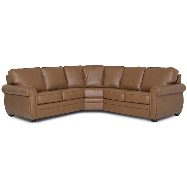 Clifford Symmetrical Curved Symmetrical Sectional By Palliser Furniture